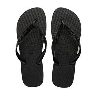 ハワイアナス(havaianas)のhavaianas ハワイアナス ビーチサンダル 黒 23cm 22.5cm(ビーチサンダル)