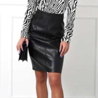 アナップラティーナ(ANAP Latina)のANAP latina レザースカート(ひざ丈スカート)