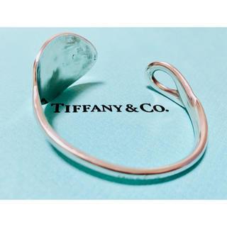 Tiffany & Co. - 希少TIFFANY&Co. ティファニースプーンバングルシルバー