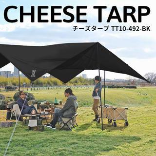 ドッペルギャンガー(DOPPELGANGER)の《生産終了》DOD チーズタープ ブラック TT10-492-BK(テント/タープ)