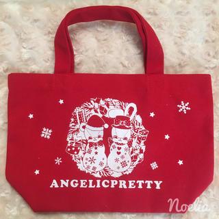 アンジェリックプリティー(Angelic Pretty)のFancy Noelトートバッグ(トートバッグ)