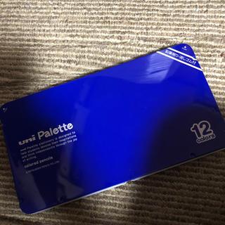 ミツビシエンピツ(三菱鉛筆)のuni 色鉛筆 12色(鉛筆削り付き)(色鉛筆)