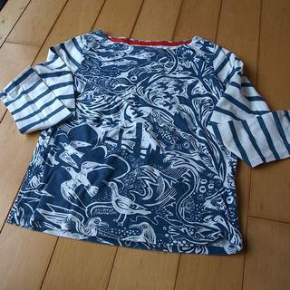 ボーデン(Boden)のminiboden 柄長袖Tシャツ 6ー7Y 120cm 中古 イギリス (Tシャツ/カットソー)