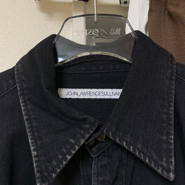 JOHN LAWRENCE SULLIVAN(ジョンローレンスサリバン)の【20AW】JOHN LAWRENCE SULLIVAN デニム シャツ メンズのジャケット/アウター(Gジャン/デニムジャケット)の商品写真