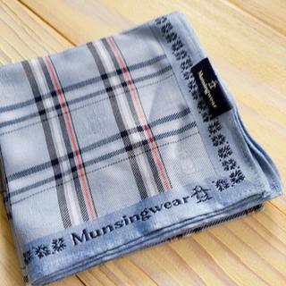 マンシングウェア(Munsingwear)の【新品】マンシングウェア メンズハンカチ(ハンカチ/ポケットチーフ)