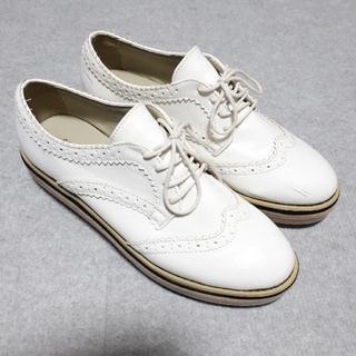 ジーナシス(JEANASIS)のJEANASIS 厚底 レースアップ シューズ(ローファー/革靴)