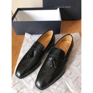 BURBERRY - BURBERRY ドレスシューズ タッセルローファー 本革靴