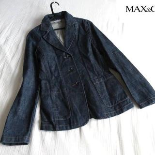 マックスマーラ(Max Mara)の美品 MAX&CO. マックス&コー デニムジャケット Gジャン(Gジャン/デニムジャケット)