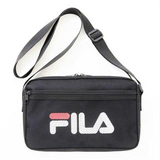 フィラ(FILA)のFILA☆メッシュポケット付きロゴショルダーバッグ(ショルダーバッグ)