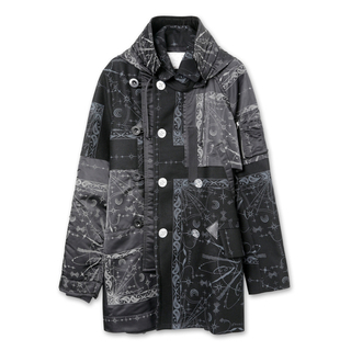 サカイ(sacai)のsacai dr.woo 20aw コート サイズ1  ブラック(ミリタリージャケット)