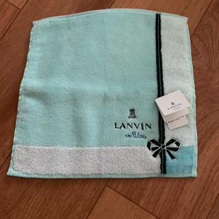 ランバンオンブルー(LANVIN en Bleu)のランバンオンブルー ミニタオルハンカチ(ハンカチ)