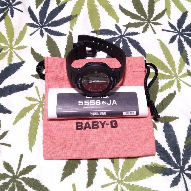 Baby-G(ベビージー)のBluetooth CASIO Baby-G bsa-b100 ブラック レディースのファッション小物(腕時計)の商品写真