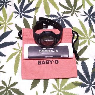 ベビージー(Baby-G)のBluetooth CASIO Baby-G bsa-b100 ブラック(腕時計)