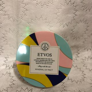 エトヴォス(ETVOS)のエトヴォス ETVOS ミネラルUVパクトⅡ フェイスパウダー USED品(フェイスパウダー)