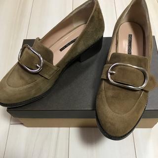 ペリーコ(PELLICO)のペリーコサニー ローファー バックルつき37(ローファー/革靴)