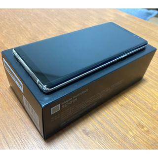 ギャラクシー(Galaxy)の【美品】Galaxy Note8 SC-01K 本体 外装&基板&電池新品!(スマートフォン本体)