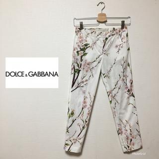 ドルチェアンドガッバーナ(DOLCE&GABBANA)のDOLCE&GABBANA パンツ 140 花柄 フラワー(パンツ/スパッツ)