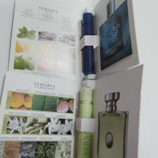 ヴェルサーチ(VERSACE)の【3】ヴェルサーチ香水サンプル2点セット(ユニセックス)