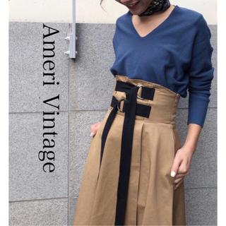 アメリヴィンテージ(Ameri VINTAGE)の値下げ!【AMERI Vintage】relax V neck knit (ニット/セーター)