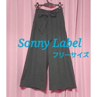 サニーレーベル(Sonny Label)のアーバンリサーチサニーレーベル 秋冬ワイドパンツ フリーサイズ(カジュアルパンツ)