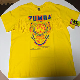ズンバ(Zumba)の【新品・未使用品】ZUMBA®︎ウェア Tシャツ 黄色(ダンス/バレエ)
