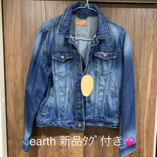 earthデニムジャケット※新品タグ付き※