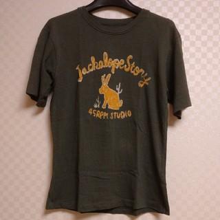 フォーティーファイブアールピーエム(45rpm)の45RPM STUDIO ☆ ウサギ ヴィンテージ Tシャツ(Tシャツ(半袖/袖なし))