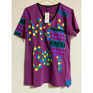 ミルクボーイ(MILKBOY)のミルクボーイ MILKBOY  新品タグ付き ドット Tシャツ パープル(Tシャツ/カットソー(半袖/袖なし))