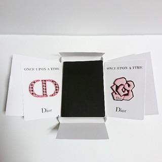 ディオール(Dior)のDior ディオール 手帳 ノート ステッカー シール(ノート/メモ帳/ふせん)