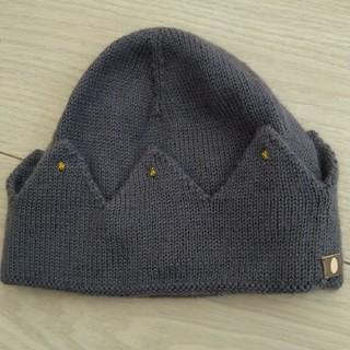 ボンポワン(Bonpoint)のoeuf アルパカ クラウンニット帽 12m(帽子)