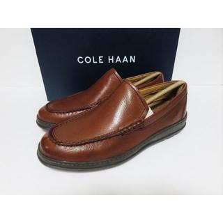 Cole Haan - 新品 COLE HAAN ローファー 8 W 幅広 メンズ ブリティッシュタン