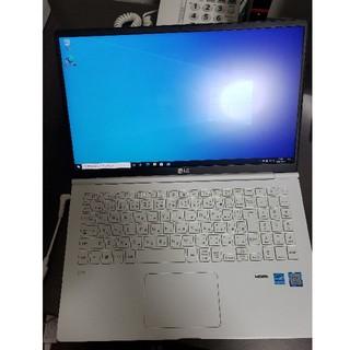 エルジーエレクトロニクス(LG Electronics)のLG gram 15インチ 15Z980-GA77J  core i7 16G(ノートPC)
