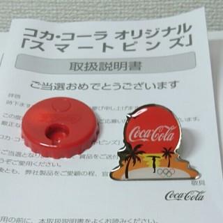 コカコーラ(コカ・コーラ)のコカ・コーラ スマートピンズ(ノベルティグッズ)