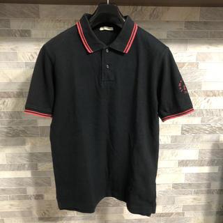 インメルカート(inmercanto)のINMERCANTO   ブラック半袖ポロシャツ(ポロシャツ)