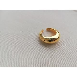 プラージュ(Plage)のボリュームリング ゴールド アサミフジカワ プラージュ トゥデイフル(リング(指輪))