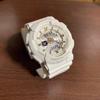 ベビージー(Baby-G)の[花様専用]CASIO Baby-G腕時計 ホワイト レディース (腕時計(デジタル))