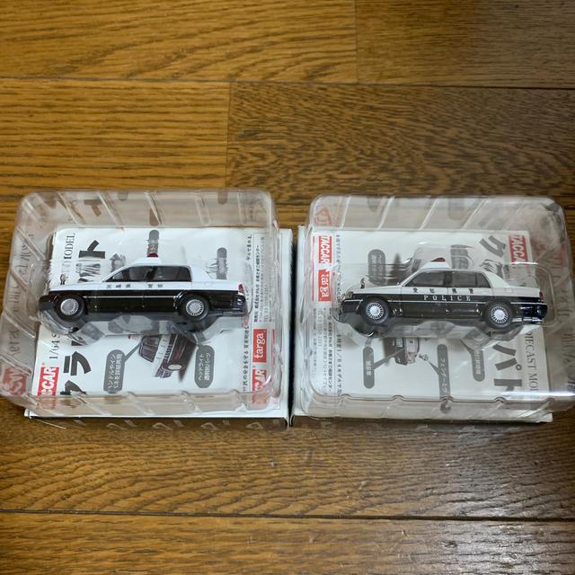 AOSHIMA(アオシマ)のクラウンパト 二台 エンタメ/ホビーのおもちゃ/ぬいぐるみ(ミニカー)の商品写真