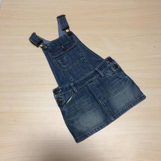 ベビーギャップ(babyGAP)の処分価格♡ベビーギャップ♡サロペットスカート90(ワンピース)
