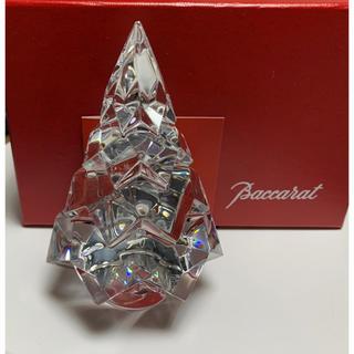 バカラ(Baccarat)の美品 バカラ baccarat ツリー 置物 インテリア クリスマス アスペン(置物)