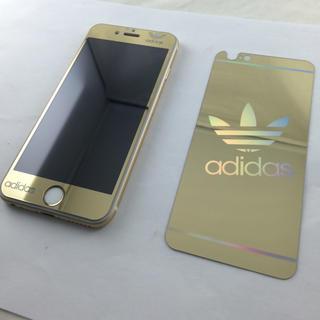 アディダス(adidas)の海外限定アディダスガラスフィルム色選択可(iPhoneケース)