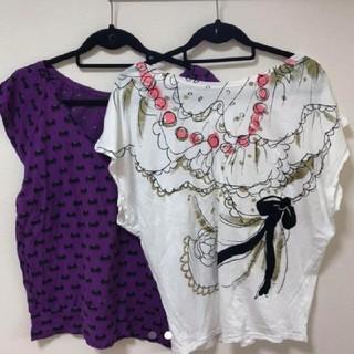 ツモリチサト(TSUMORI CHISATO)のツモリチサトTシャツ2枚セット①(Tシャツ(半袖/袖なし))