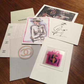 シャネル(CHANEL)のシャネルのカード   7枚セット(カード)