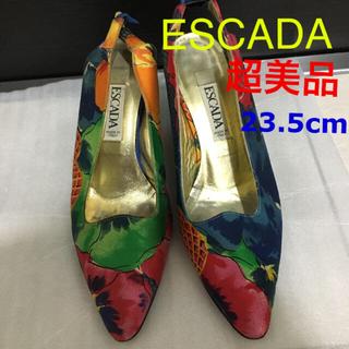 エスカーダ(ESCADA)の正規品 超美品 エスカーダ インポート パンプス(ハイヒール/パンプス)