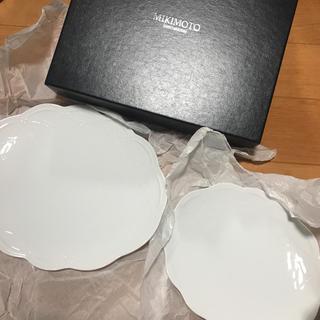 ミキモト(MIKIMOTO)のミキモト 皿 二枚セット 白(食器)