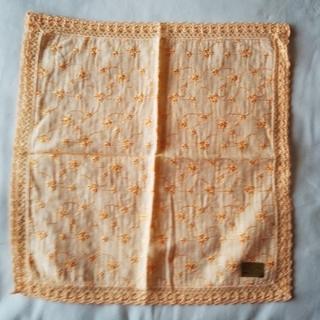 刺繍ハンカチ(ハンカチ)