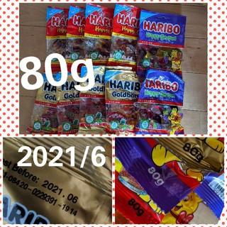 ゴールデンベア(Golden Bear)のHARIBO ハリボ 3種類10袋セット 80g(菓子/デザート)