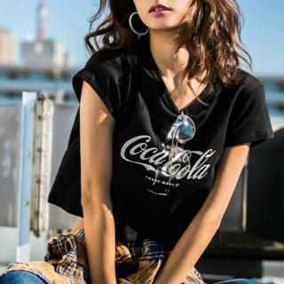 ジェイダ(GYDA)のコカ・コーラ ショートTシャツ(Tシャツ/カットソー(半袖/袖なし))