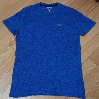 ホリスター(Hollister)のHollister Tシャツ 青 ブルー Sサイズ メンズ(Tシャツ/カットソー(半袖/袖なし))