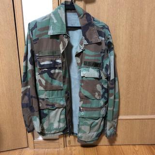 US military ミリタリージャケット ヴィンテージ(ミリタリージャケット)
