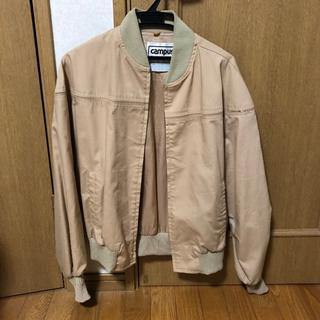 Campus ジャケット ベージュ Lサイズ(ブルゾン)